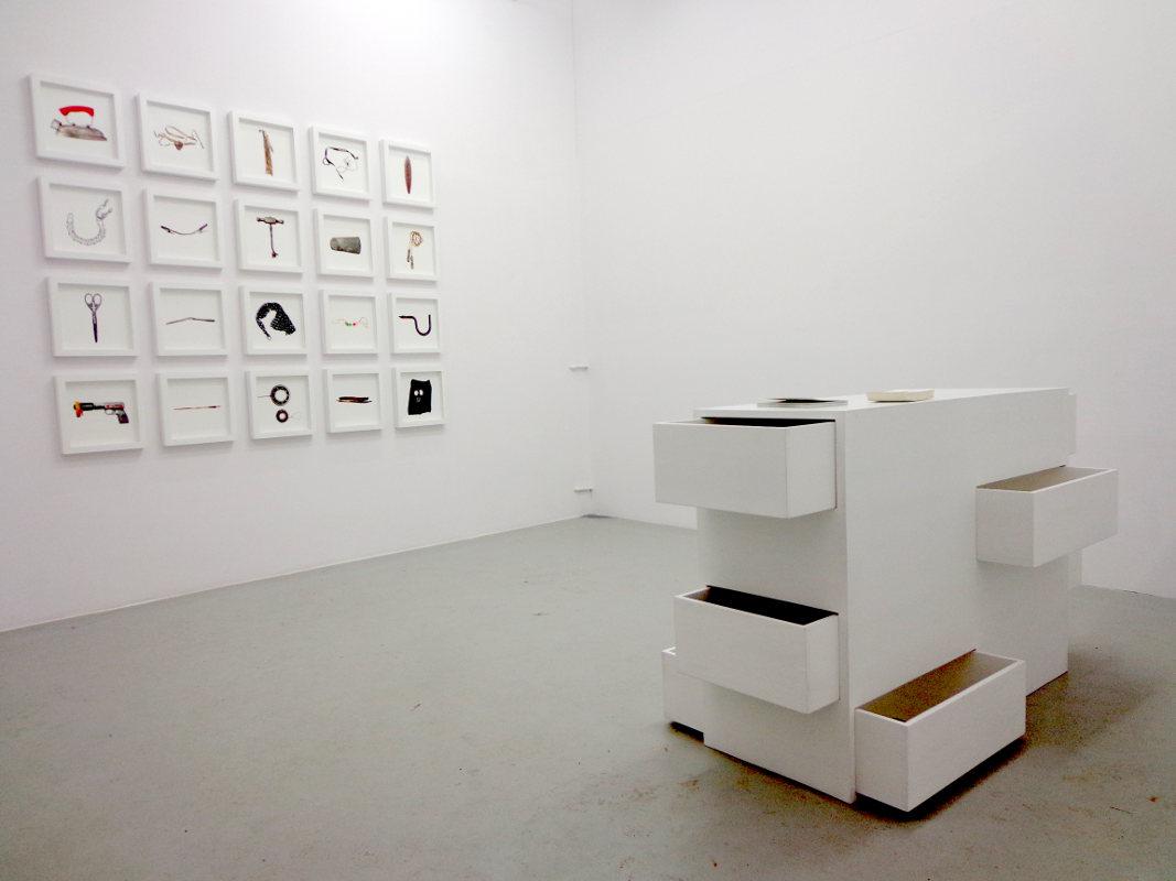 """Wystawa """"Eter"""" Katarzyny Mirczak w Fundacji Archeologia Fotografii w Warszawie, 28.12.2012"""