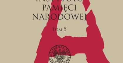 """Okładka """"Przeglądu Archiwalnego IPN"""" nr V z 2012 r."""