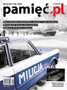 "Okładka Biuletynu IPN ""Pamięć.pl"" nr 9/2012pamiec_nr_9_caly1a"