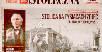 """""""Gazeta Stołeczna"""", 8.03.2013"""