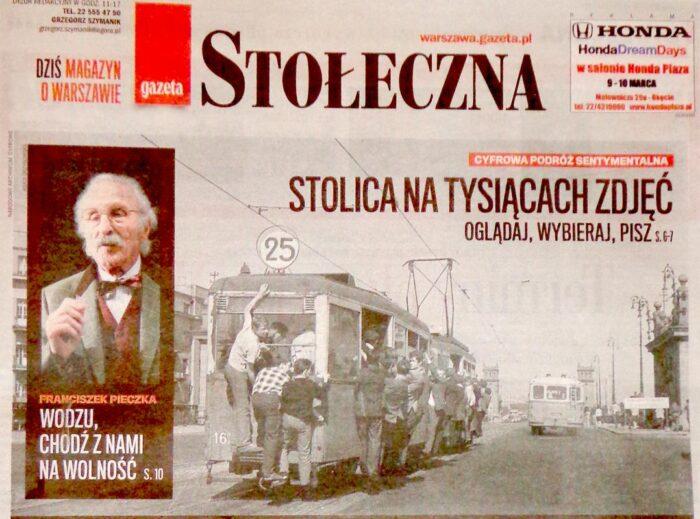 """Stolica na tysiącach zdjęć – konkurs """"GW"""" i NAC"""