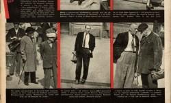 """Władysław Sławny, Fotoreportaż: Świat Was podpatrzył, """"Świat"""", nr 24 z 1954 r., s. 24, MNW"""
