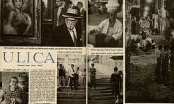 """Konstanty Jarochowski, Ulica. Fotoreportaż z Włoch, """"Świat"""", nr 33 z 1957 r., s. 10-11, MNW"""