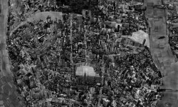 "Sohei Nishino, Nowy Jork [New York] z cyklu ""Diorama Map,"" 2006. © Sohei Nishino, Courtesy Michael Hoppen Gallery, London."