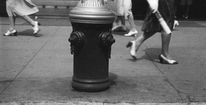 Rudy Burckhardt, Hydrant (Sidewalk XI), New York, 1939 © The Estate of Rudy Burckhardt and Tibor de Nagy Gallery, New York