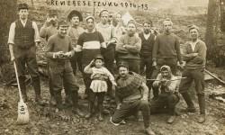 Karta pocztowa z 1915 r., Sammlung Fotostieftung Schweiz.