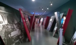 """Wystawa """"14/18 – Die Schweiz und der Grosse Krieg""""  w Muzeum Historycznym w Bazylei, 27.01.2015 r."""