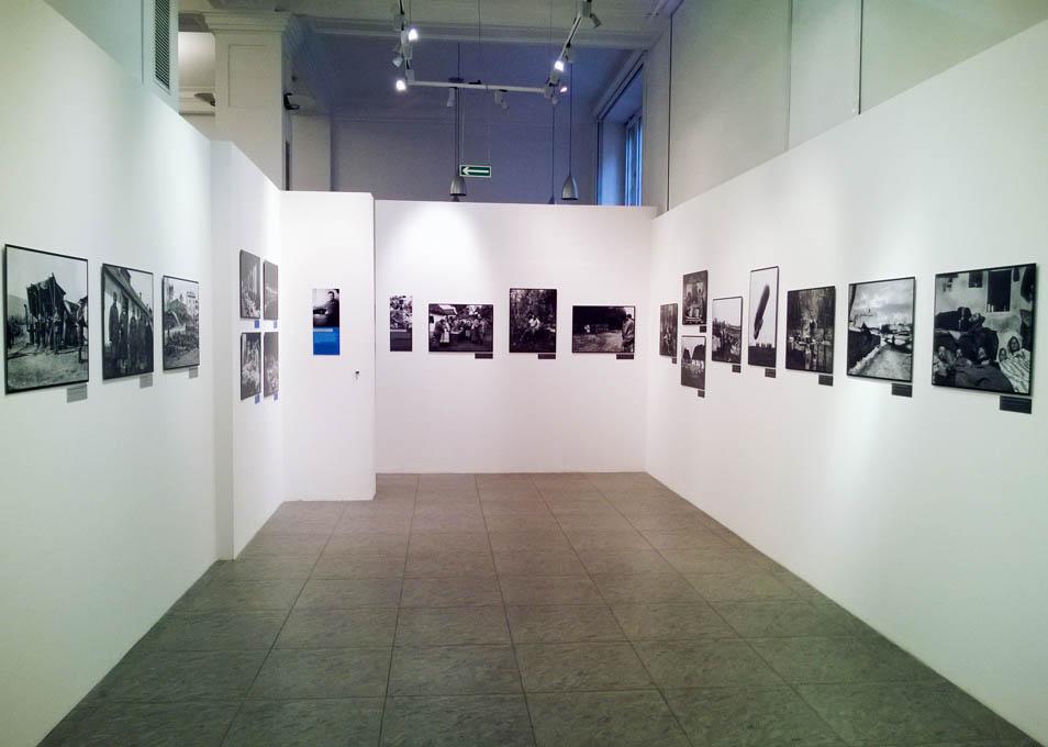 "Wystawa ""Fotografowie I wojny: Brož, Myšička, Rajman""."