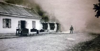 """Torczyn koło Łucka na Wołyniu. Fotografia z wystawy """"Wielka Wojna na Wschodzie (1914–1918). Od Bałtyku po Karpaty"""""""