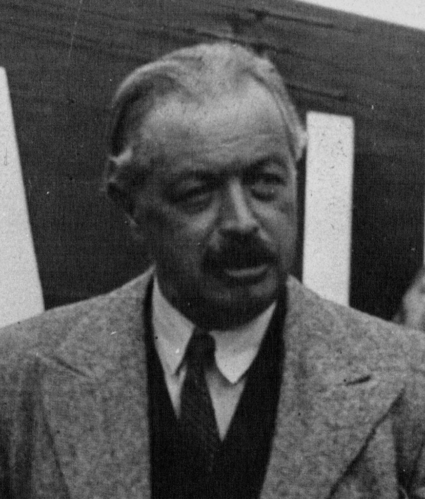 Alfred Savoir, 1932 r. Źródło: gallica.bnf.fr / BnF (fragment większej fotografii)